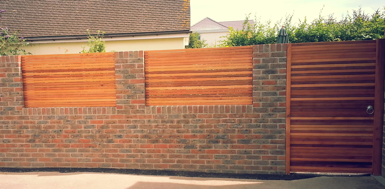 Забор из кирпича своими руками - пошаговая инструкция! 32