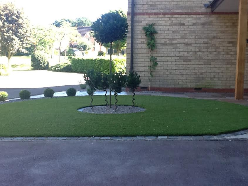 Ravishing Crs Landscapes  Portfolio With Marvelous A Sandstone And Astro Turf Front Garden With A Bay Tree Centre Feature And  Boxed Ball Edging With Awesome Bermondsey Spa Gardens Also The Edible Garden Show In Addition Palm Beach Gardens Homes For Sale And Garden Tillers And Cultivators As Well As Breakfast Near Covent Garden Additionally Garden Moles From Crslandscapescouk With   Marvelous Crs Landscapes  Portfolio With Awesome A Sandstone And Astro Turf Front Garden With A Bay Tree Centre Feature And  Boxed Ball Edging And Ravishing Bermondsey Spa Gardens Also The Edible Garden Show In Addition Palm Beach Gardens Homes For Sale From Crslandscapescouk